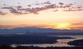 Seatle Sunrise Flights