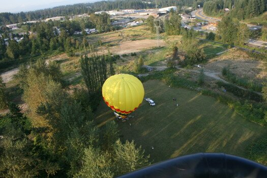 The Best Hot Air Balloon Company Near Snohomish